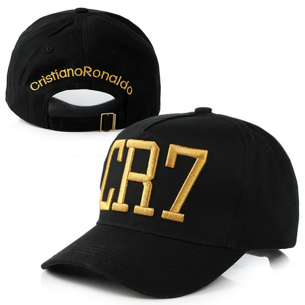 CR7 Sports Baseball Caps Letters Embroidery Hats Casquette Hip Hop Caps Cristiano Ronaldo Snapback Football Hats for Men Women High Quality