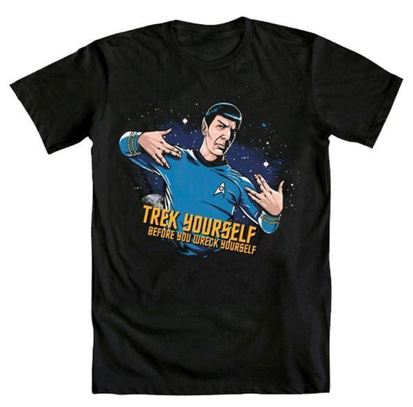 Star Trek Spock Representin Mens Black T-Sh Hot 2018 Summer Men'S T Shirt Fashion