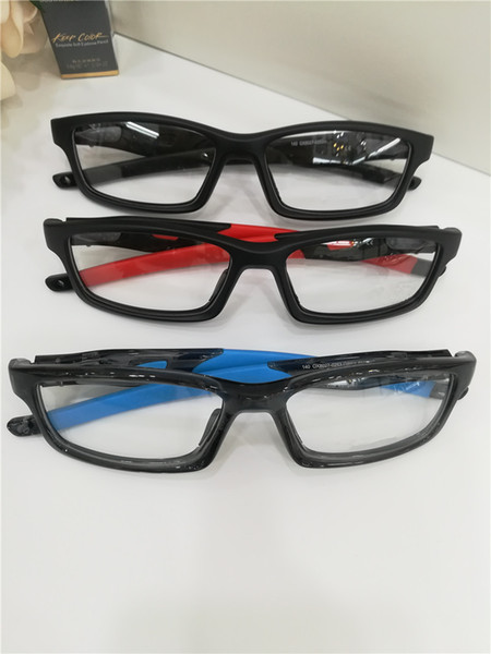 Cheap High quality PC coated lens Square Eyeglasses Frames Spectacle Optics Glasses Sunglasses For Mens Womens OX8027