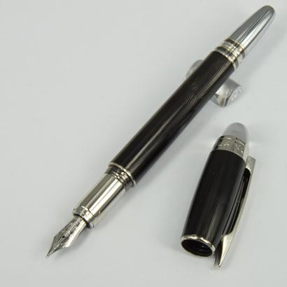 caneta-tinteiro preto onda