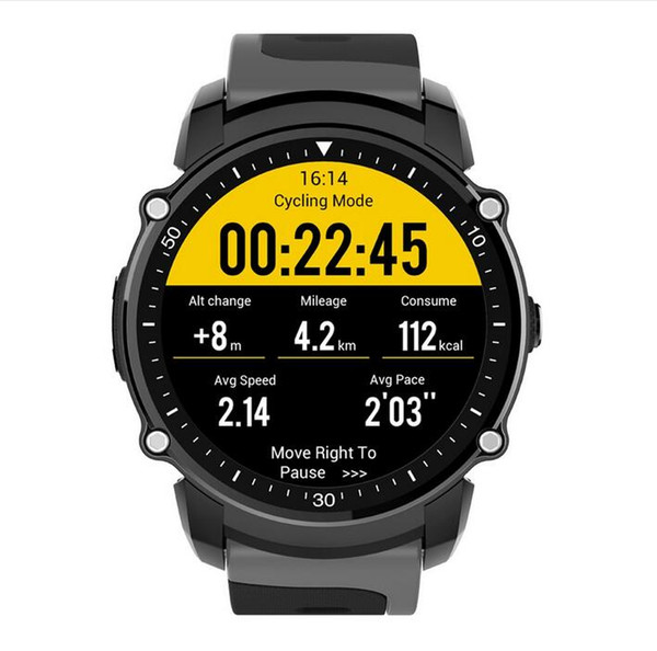2018 Top FS08 Bluetooth Smart Watch Waterproof IP68 Swim GPS Sport Fitnes Tracker Stopwatch Heart Rate Monitor Wristwatch for Android