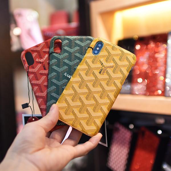 Custodia rigida per plaid in pelle con stampa a strisce in pelle di serpente con motivo a strisce per iPhone XS Max XR 6s 7 8 Plus Samsung S10