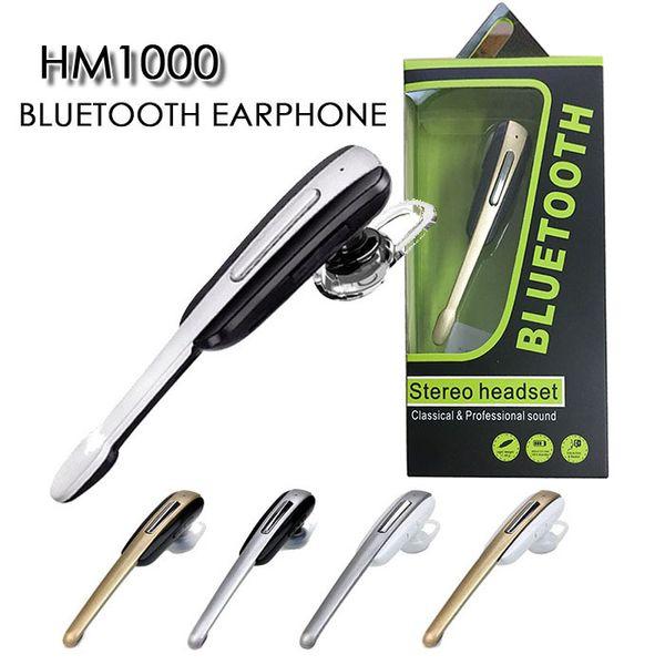 Preço de fábrica hm1100 hm1000 estéreo bluetooth 4.1 sem fio hi-fi inear fones de ouvido handfree negócios Auriculares fone de ouvido fone de ouvido com microfone
