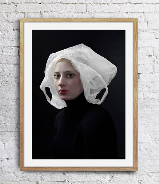 top popular Hendrik Kerstens Photographs His Daughter Art Poster Wall Decor Pictures Art Print Poster Unframe 16 24 36 47 Inches 2021