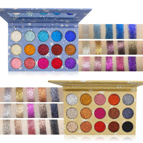 2018 Newest Glitter Eye Shadow Shimmer Powder Palette Matte Eyeshadow  Cosmetic Makeup Support Dropship Eye Makeup Beauty From Cangchun, $21 2 