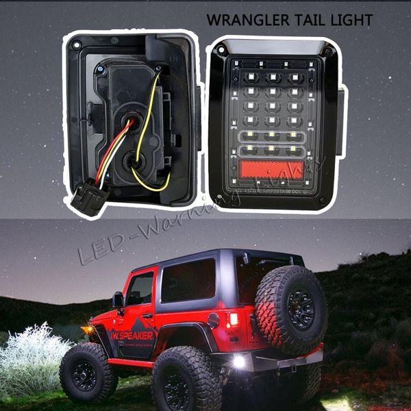 paire libre d'expédition frein de marche arrière LED tourner singal feu arrière pour dresseur JK 15.07 US ou DRL européen arrière norme