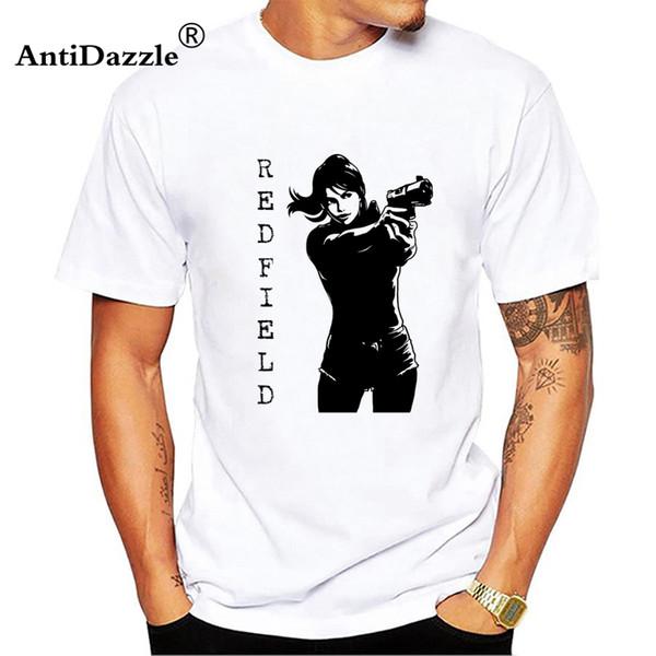 Resident Evil T-Shirt Summer Men T Shirt High Quality Cool Clothing Tops Tee
