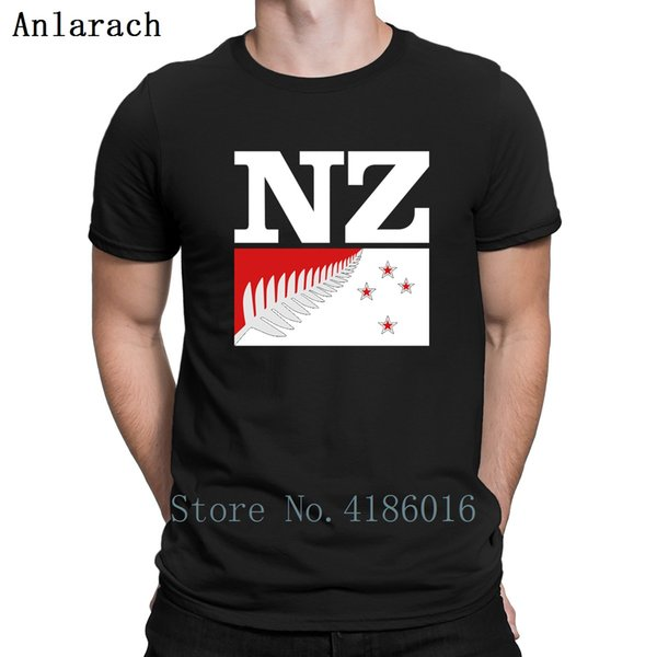New Zealand Design Tshirts Normal Leisure Fit O Neck Men T Shirt 2018 Hip Hop Tee Shirt Funny Casual Printing