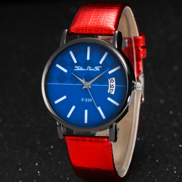 luxury brand bracelet watch for women Candy Color Male And Female Strap Wrist Watch Couple watches relogio masculino