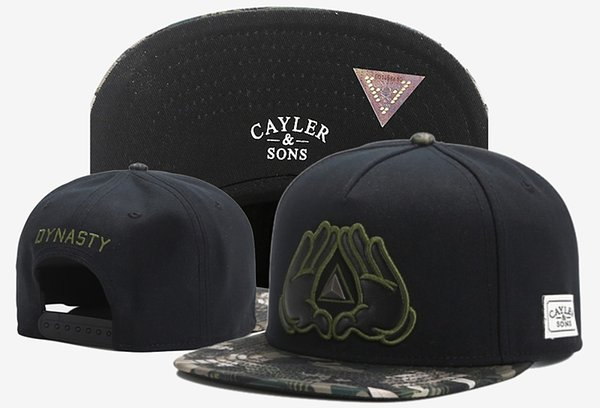 2018 new In original box's cayler & sons crew anchor brooklyn Caps hats,Wl Munchies Hot Christmas Sale Adjustable Snapback Baseball Cap hat
