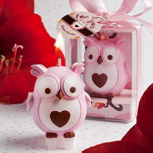 Children 'S Birthday Party Supplies Birthday Candle Smokeless Candle Owl Small Candle Wedding Decoration Scented Candles