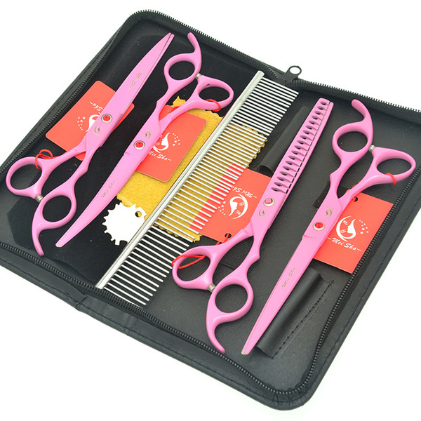 """7.0"""" Meisha Professional Pet Grooming Thinning Shears Japan High Quality Cats Dogs Hairdressing Cuting Clipper Puppy Haircut Scissors HB0166"""
