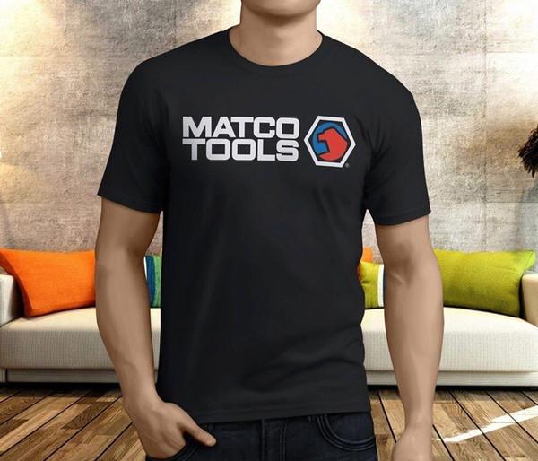 New Cool Matco Tools Men's Black T-Shirt S-3XL