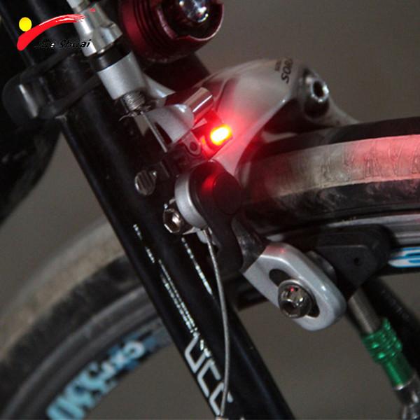 Leds Red Bicycle Rear Light Brake Stop Signal Bike Light Lamp Baery Bicycle Accessories Led Bike Cycling bisiklet aksesuar