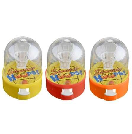 top popular 1Pcs Random Color Cute PVC Plastic Small Mini Handheld Finger Ball Hand Basketball Hoops Shooting Puzzle toy For Kids Funny Gift 2021