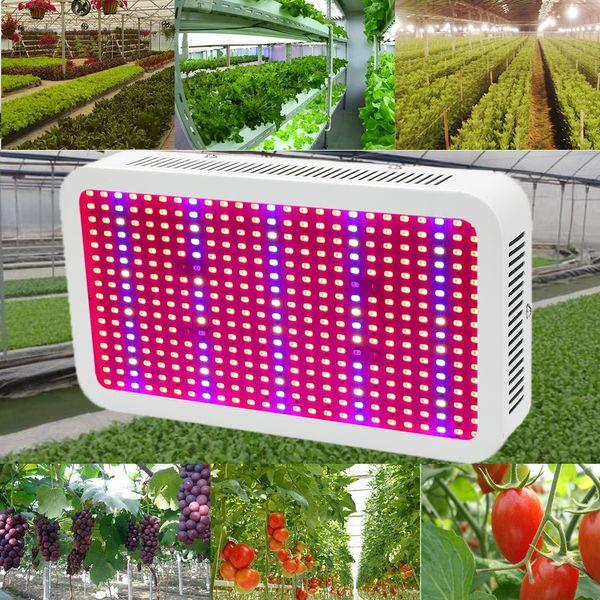 400 LEDs Grow Lights Full Spectrum 400W Indoor Plant Lamp For Plants Vegs  Hydroponics System Grow/Bloom Flowering Growing Bulbs 600 Watt Hps Grow