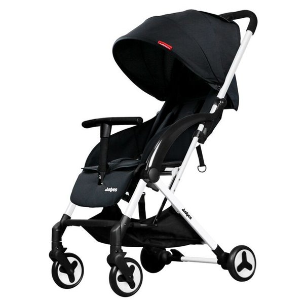Armrests, sitting, folding, children's trolley, lightweight stroller Baby stroller