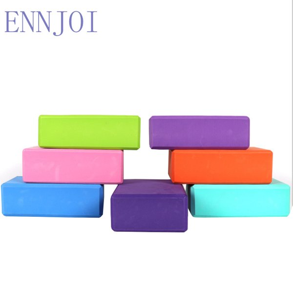 7 Colors 15*7.5*23cm High Quality High Density Yoga Block Home Practice Fitness Gym Sports Tool Health Training Brick