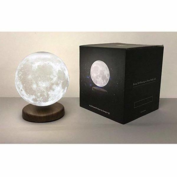 Levitation 3D Printed Moon Lamp Party Decorations Wedding Night Light