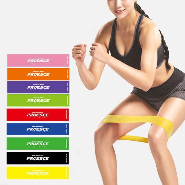 Resistance Bands Rubber Bands 4Pcs/Set Fitness Gym Strength Training elastico para exercicios fitness equipment for expande