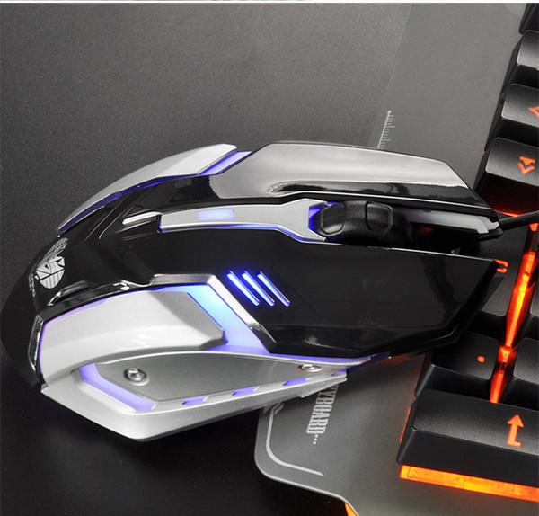 Desktop computer LOL game backlight mouse