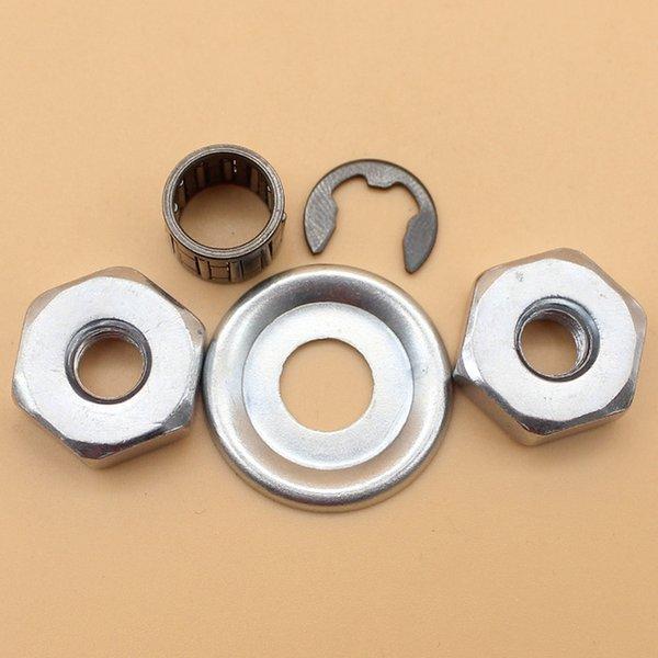 Kupplungsscheibe Nadellager Clip Bar Mutter Kit für STIHL MS180 MS170 MS210 MS230 MS250 021 023 025 017 018 Kettensäge 0000 955 0801