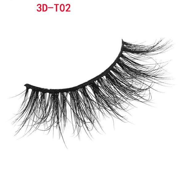 3D Mink Lashes 100% Real Siberian 3D Mink Full Strip False Eyelash Long Individual Eyelashes Mink Lashes private logo L