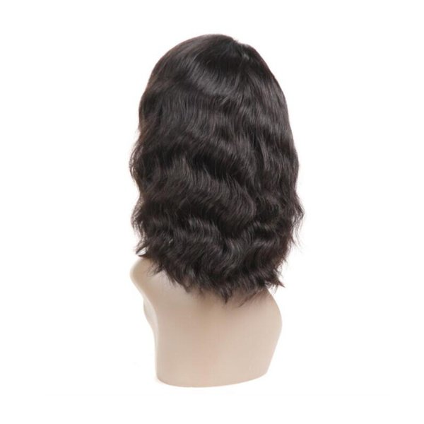 Cheap Body Wave Bob Lace Front Wigs With Baby Hair Malaysian Remy Hair Glueless Full Lace Human Hair Wigs For Black Women