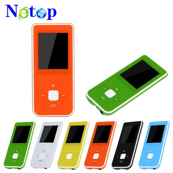 Netop Hot-sale 1.8-inch TFT MP4 Player HD Video MP4 LCD Screen FM Radio Video Games Movie Support Micro SD TF