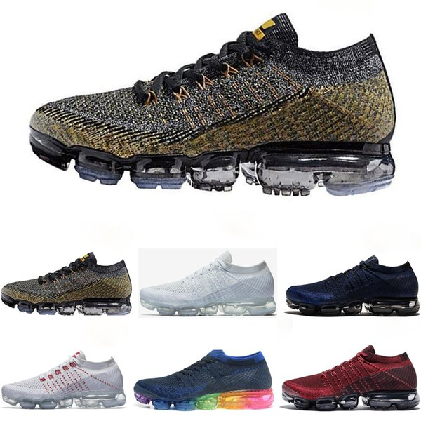 Cheapest Men Women Running Shoes Cushion Surface Breathable Fly line Sports shoes Hot Jogging designer shoes