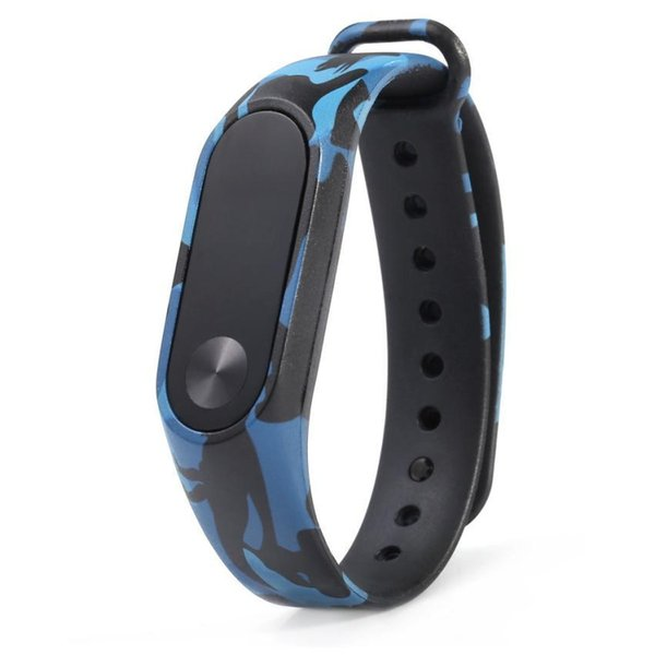 2017 New Camouflage Pattern Strap watch WristBand Bracelet Replacement For Xiaomi MI Band 2 2017