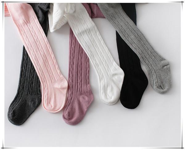 300 pcs 6 colors Popular Baby Pants Baby Girls Cotton Leggings Spring Autumn Pants Wear Children's Leggings & Tights