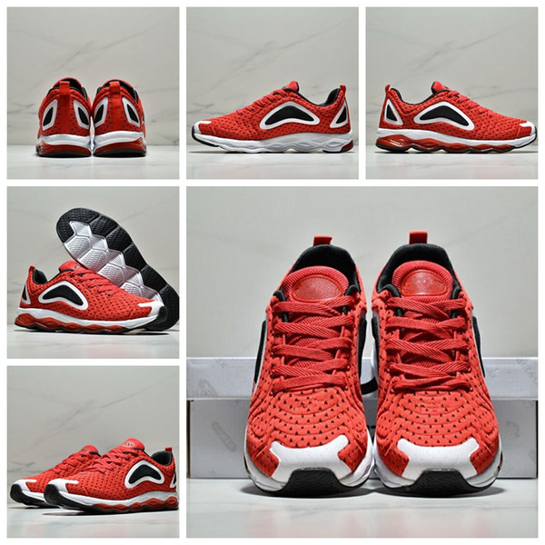2018 New Sale YUNG-1 Kanye West 700 Wave Runner Mens Women Shoes Original quality Black White Orange Sports Sneakers