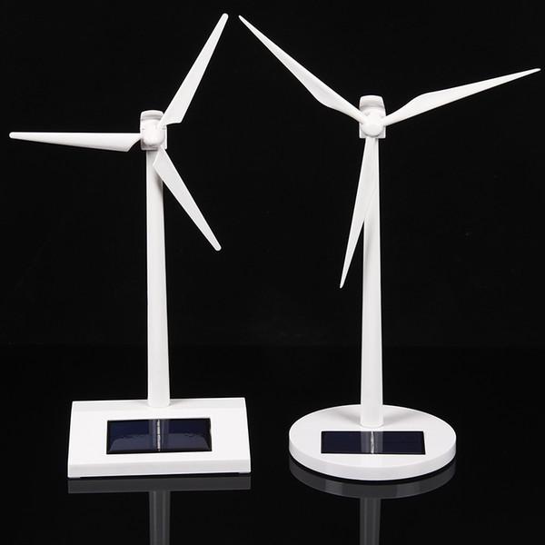 Yeni gelmesi DIY Güneş fırıldak model oyuncaklar Plastik Monte Model 3D Bulmaca Montaj Güneş Enerjili Fırıldak Çocuklar Için En Iyi Hediye