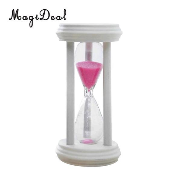 3 Min Wooden Framed Sand Glass Clock Hourglass Sandglass Coffee Kitchen Timer Art Craft Home Office Decor Kids Toothbrush Gift