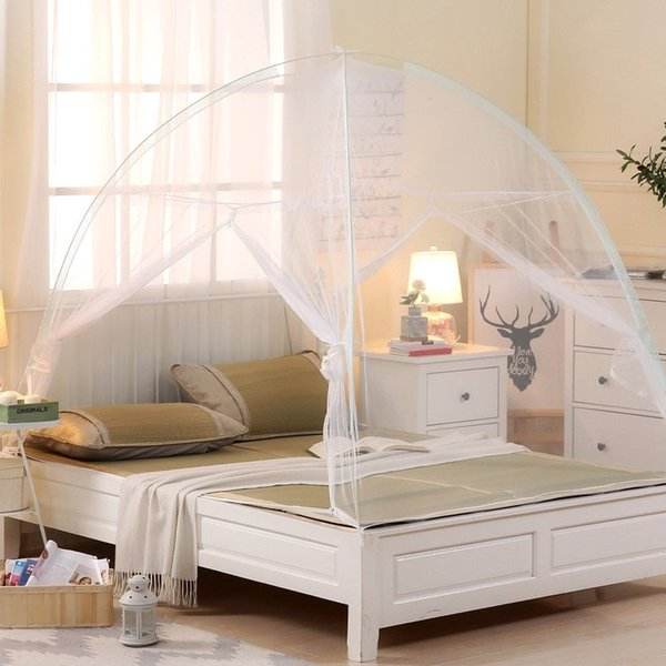 Romantic Mosquito Net For Bed Canopy Adults Canopy Netting For Double  Single Bed 4 Sizes Students Bunk Bed Mesh Kid Mosquito Net