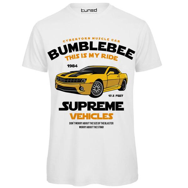 T-Shirt Damen-Shirt mit Logo-Print von Hummel-Bumblebee-Tuning-Kurzarm-Rundhals-T-Shirt Promotion