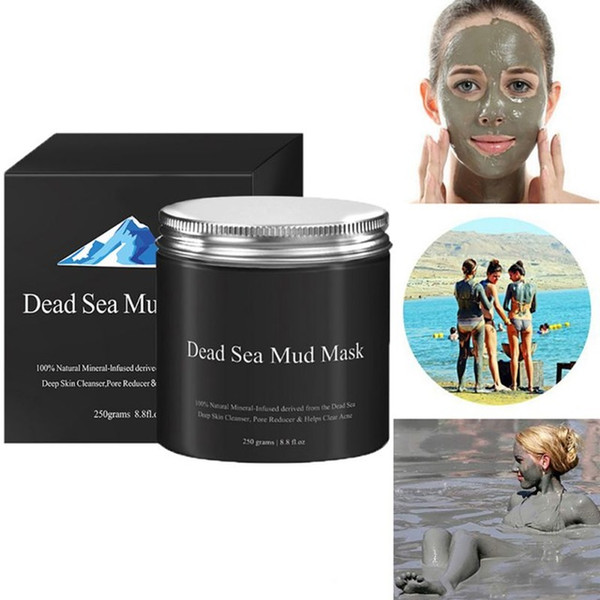 Dead Sea Mud Mask Anti Acne Deep skin Cleanser Pore Reducer Natural Mineral-Infused Detoxifier Packed With Vitanins to promote youthful skin