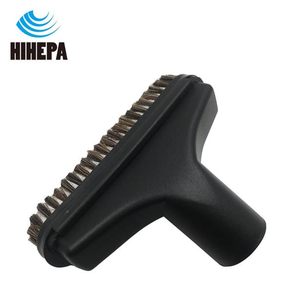 1-pack Universal 32mm Mixed Horse Hair Vacuum Cleaner Nozzle Brush Head of Vacuum Cleaner Part Cleaning Sofa Corners Floor Clean Tools