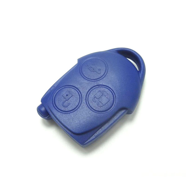 Replacement remote control key case shell for ford mondeo focus 3 button car key no chip inside fob