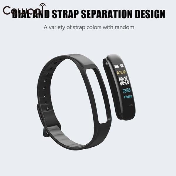 Le massage intelligent de surveillance de podomètre de bracelet intelligent de bracelet BT4.0 a frappé le multifonctionnel imperméable