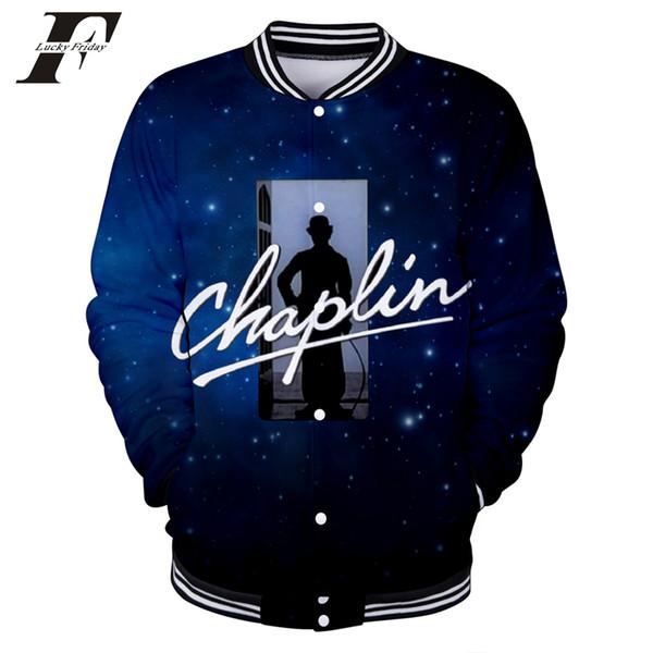 Chaqueta Chaplin 2018 Bomber Béisbol 3d Mujer Compre wIUPq4P