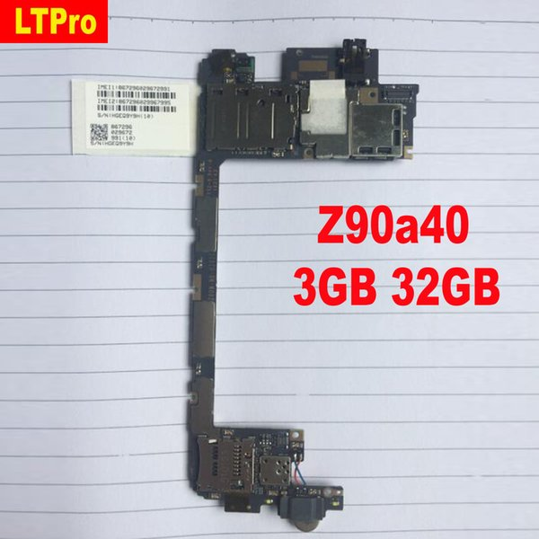 LTPro High Quality mainboard For Used Test For Lenovo Vibe shot Z90 Z90A40 3GB 32GB motherboard board card fee chipsets