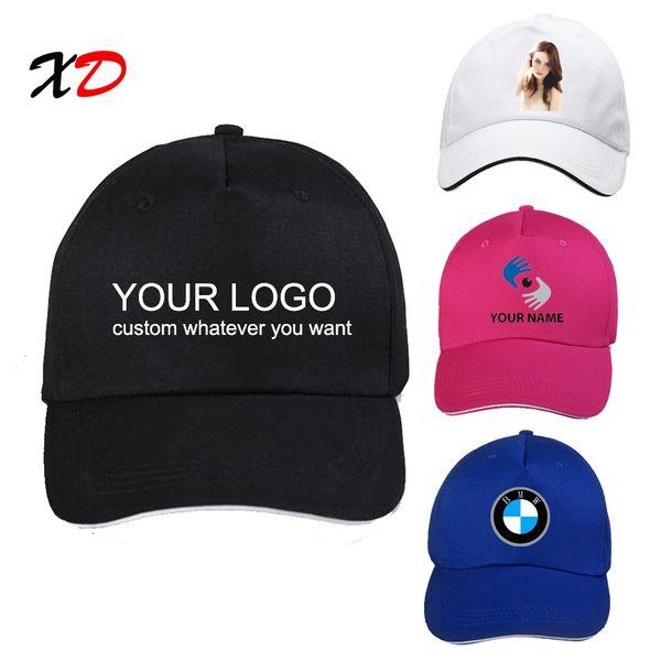 Personalizzato ricamato Cappellino Baseball Stampa Personalizzata CAPPELLO UNISEX ROSA