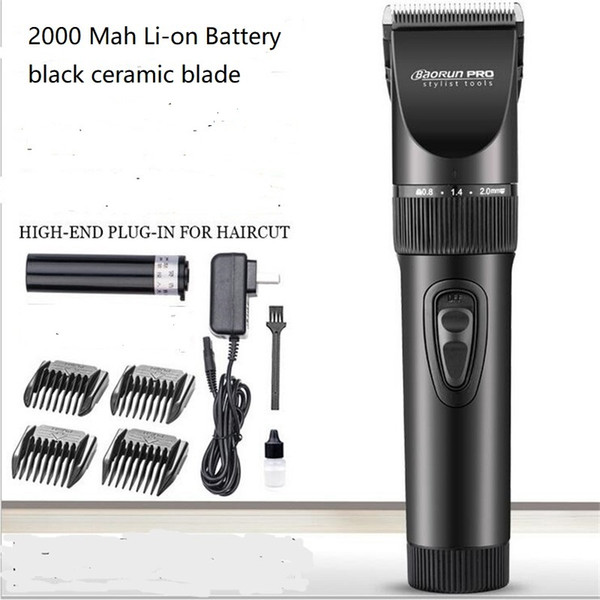 professional electric man beard shaver precision 0.8mm haircutter machine man body grooming barber hair remover clipper trimmer
