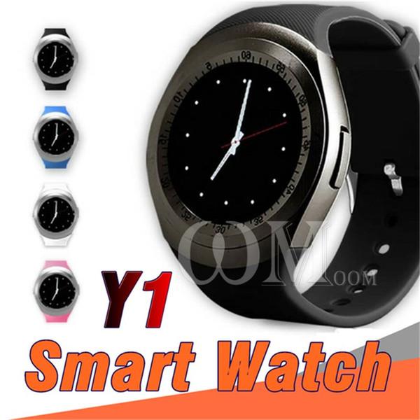 U1 Y1 relojes inteligentes para smartwatch android Samsung teléfono celular reloj bluetooth para apple iphone con U8 DZ09 GT08 con paquete minorista