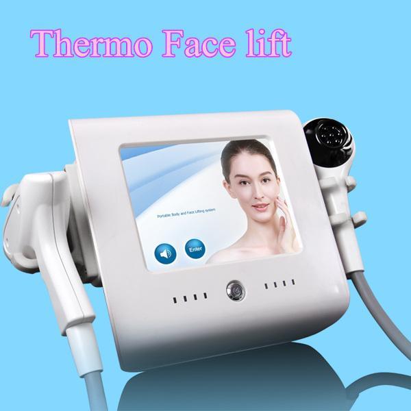 Thermo-RF-Haut, die fokussierte Rf-Gesichtsstraffungsvakuumkühlung Rf-Schönheitsgesichtsfaltenabbau-Schönheitsmaschine fokussierte