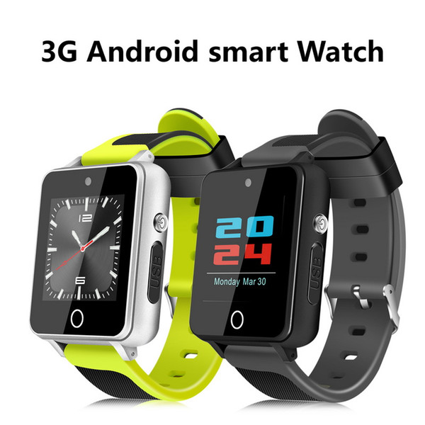 S9 Smart Watch with Android 5.1 OS MTK6580 1GB/16GB 3G Wristwatch Phone Bluetooth Wifi GPS Smartwatch Mobile Phone 2.0MP Camera Google Store