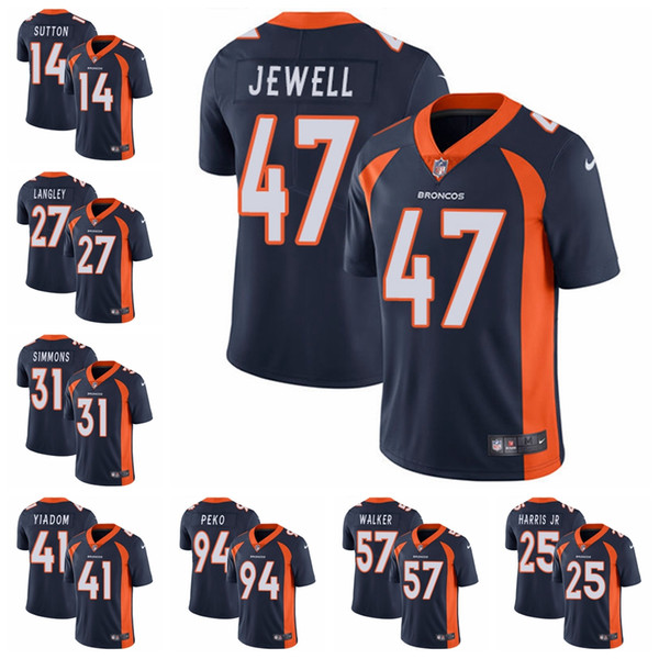low priced 99311 e9dc2 2019 BRONCO #58 Von Miller #7 John Elway #10 Emmanuel Sanders #18 Peyton  Manning Denver Men Women Youth Color Rush Football Jerseys 16 From ...