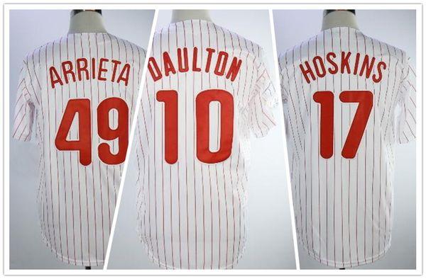 3436172c8 2018 NEW MENS 17 HOSKINS 10 DAULTON Baseball Jerseys